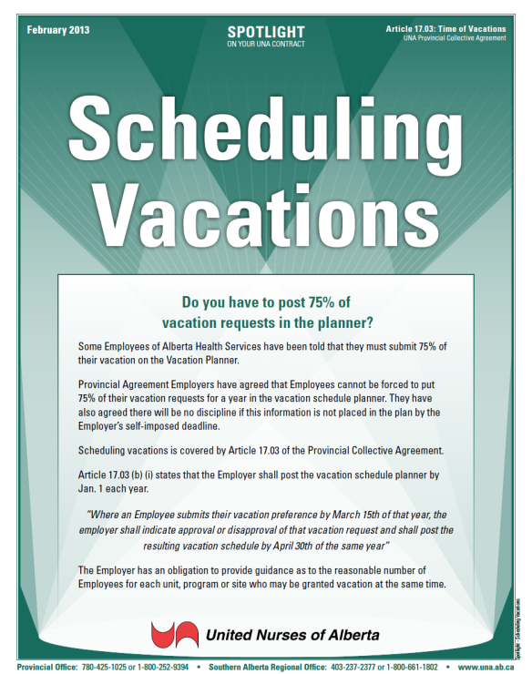 17-Scheduling Vacations