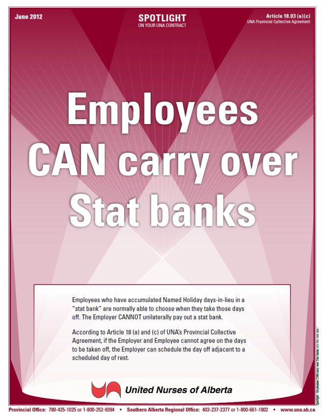 18-Employees CAN carry over Stat banks into the next year