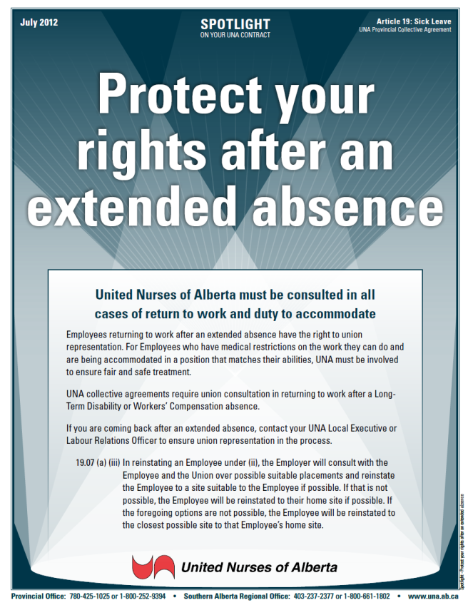 19-Protect your rights after an extended absence