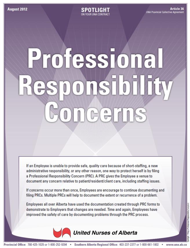 36-Professional Responsibility Concerns