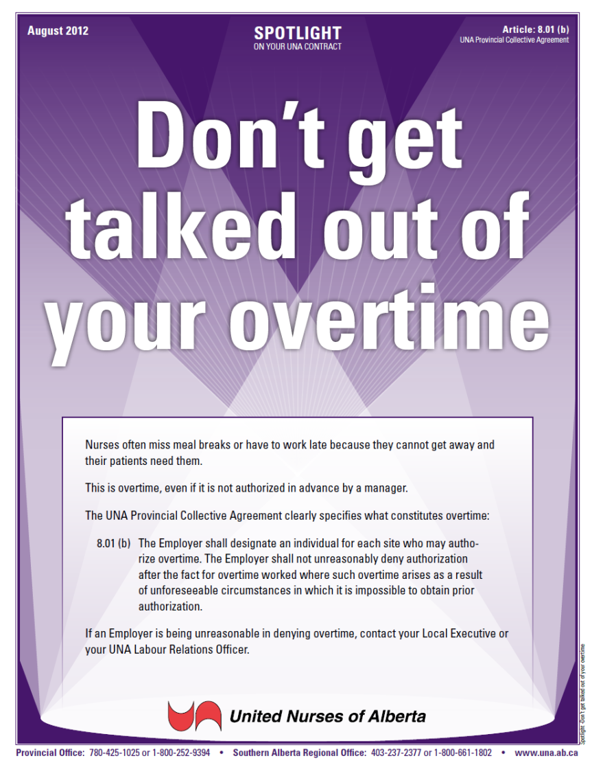 8-Don't get talked out of your overtime