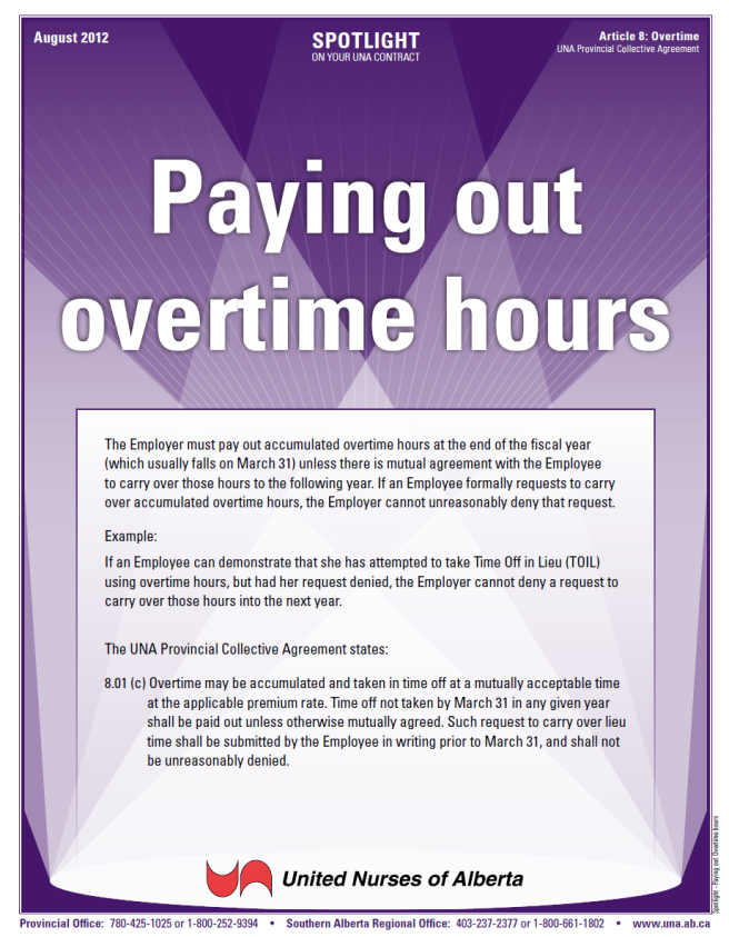 8-Paying out Overtime hours