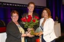 Jane Sustrik, First Vice-President of the United Nurses of Alberta (UNA)
