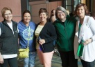 Members of the National Executive Board (NEB) join their members for a walking tour of Calgary;