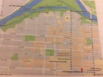 CFNU17 Walk Route